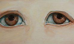 Blick in die Seele (braune Augen)